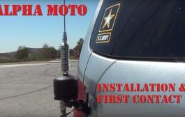 6-40 Meter Alpha MOTO the mobile HF antenna