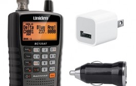 Uniden BC125AT Power Package
