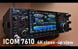 ICOM IC-7610  [4K VIDEO]