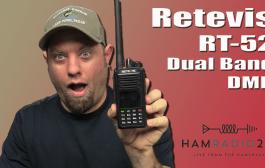 Retevis RT52 Dual Band DMR Radio