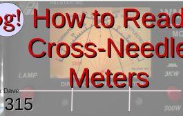 How to Read Crossed-Needle SWR/Watt Meters