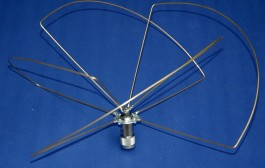 Skew Planar Wheel Antenna for 435MHz