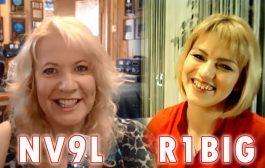 Valerie NV9L & Raisa R1BIG: to meet a future spouse in a Ham Contest?