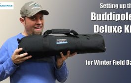 Setting up a Buddipole Deluxe Kit in the Field