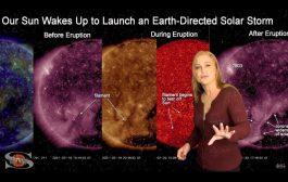 A Filament Slingshots Towards Earth | Solar Storm Forecast 02.22.2021