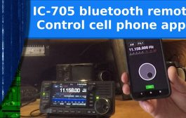 Ham Radio – Icom 705 remote control with a cell phone app!