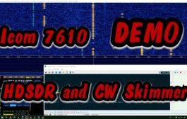 Icom 7610 HDSDR CW Skimmer Narrow