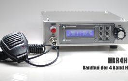 Hambuilder HBR4HF 4 Band HF Transceiver