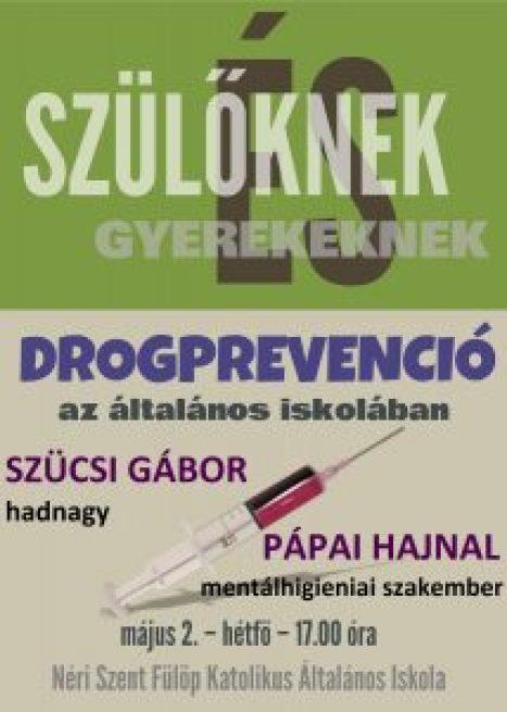 drogprevenció plakát