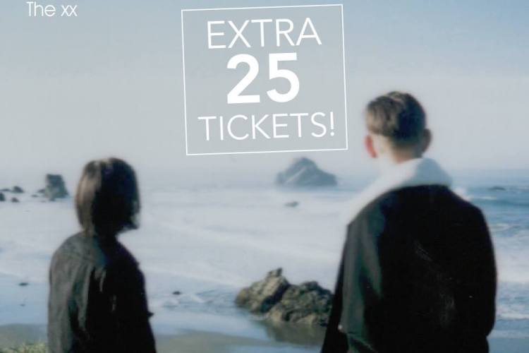 the xx extra tickets