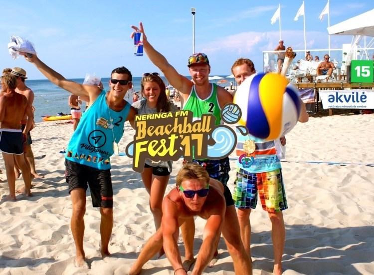 Beachball FEST'17 viršelis