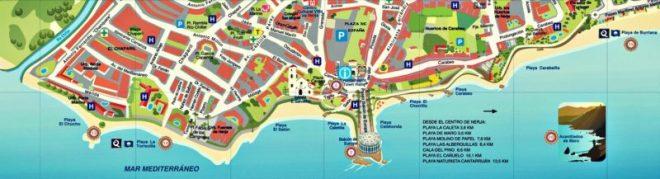Nerja Turismo - Ver en Nerja - Playas Nerja
