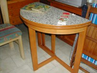 Half Moon Kitchen Table - Home Ideas