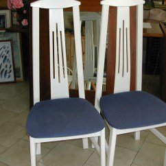 Blue And White Dining Chairs Spider Web Chair Target Room Ideas