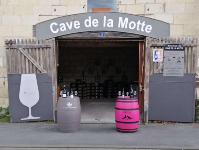 Ouverture de la cave de la Motte