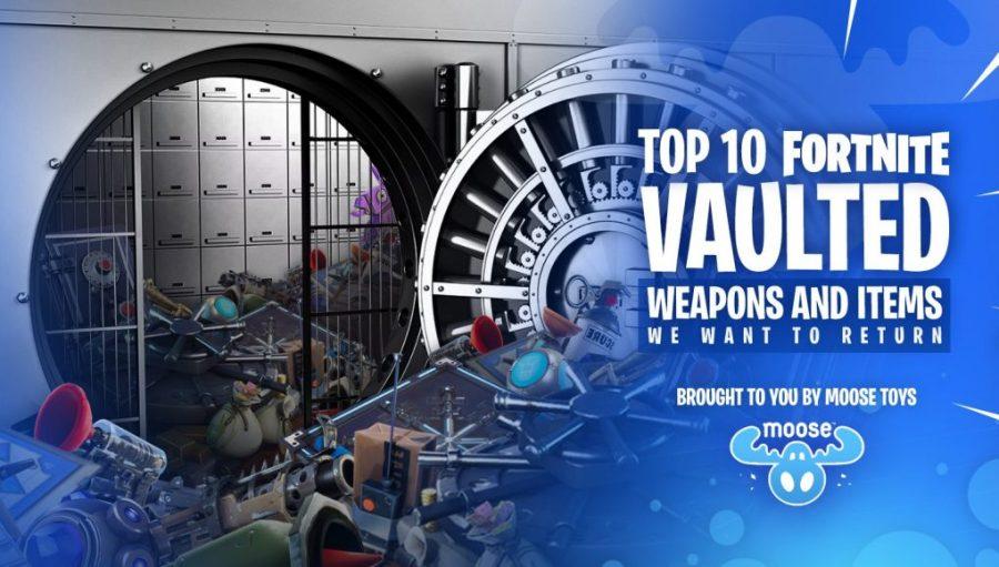 Top 10 mejores armas o artículos nivelados de Fortnite que necesitan ser devueltos