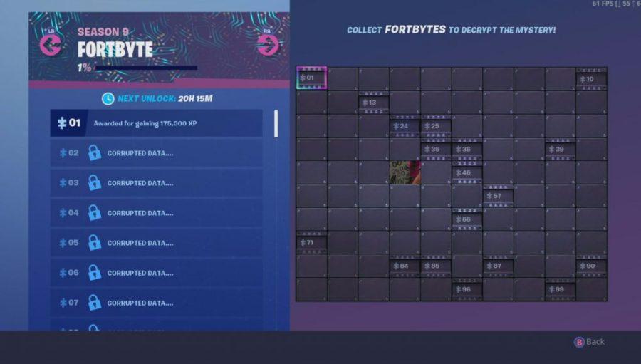Lista completa de todos los desafíos de Fortbyte actualmente disponibles