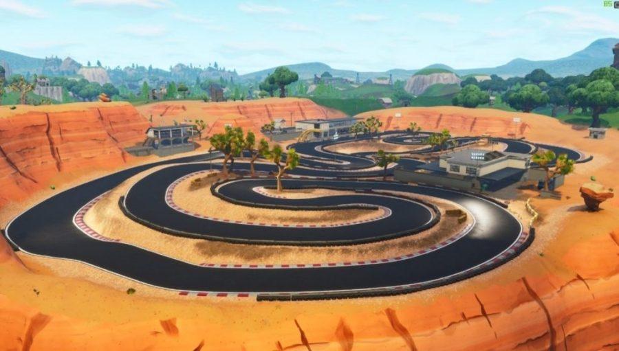 Circuito de carreras Fortnite