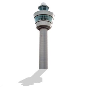 Airport Control Tower Schiphol