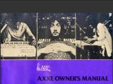 ARP AXXE OWNERS MANUALl