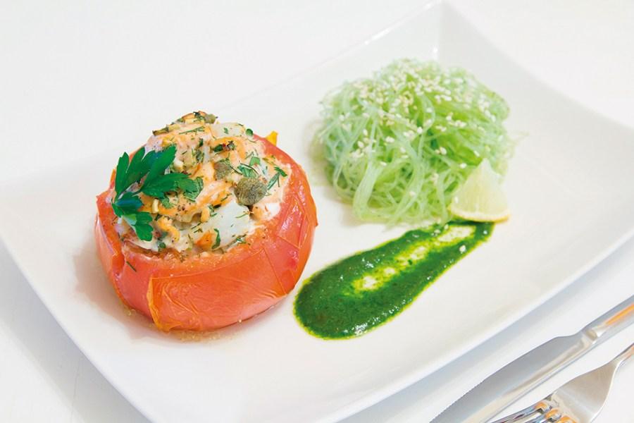 cocinar amor tomate ponchado