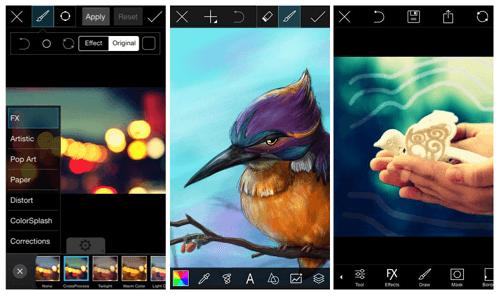 aplikasi edit foto android PicsArt