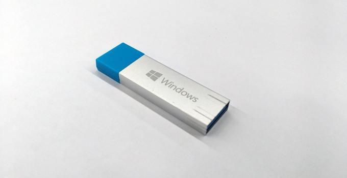 cara menginstall windows dengan USB flashdisk