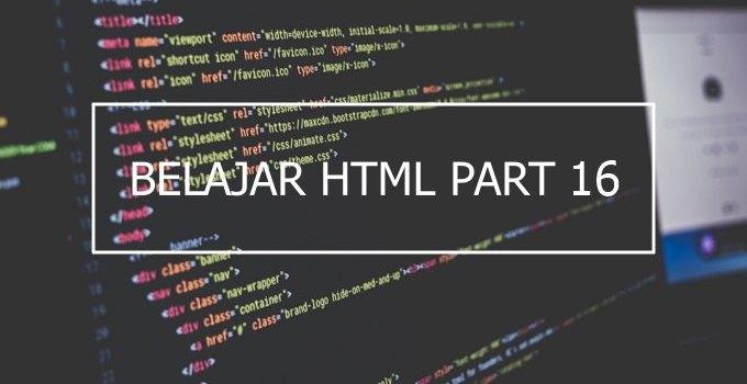 cara menambahkan gambar di HTML