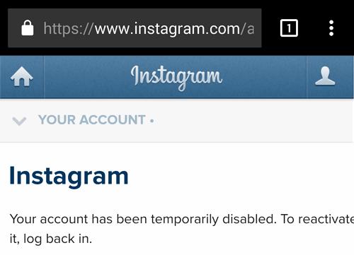 temporarily blocked