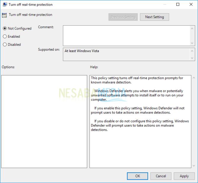 cara mengaktifkan windows defender dengan mudah
