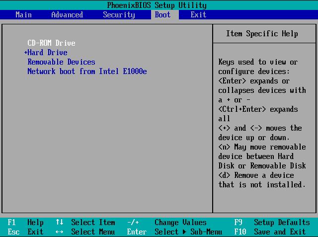 pilih Cd drive windows 10