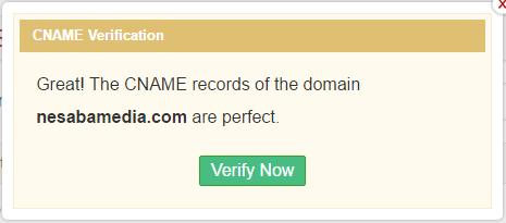 pilih verify now