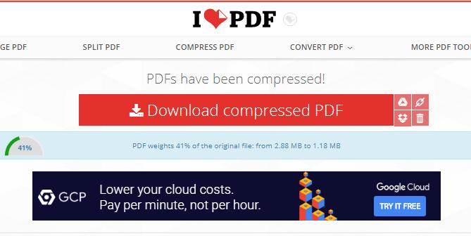 cara kompres file pdf tanpa aplikasi