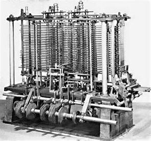 Pengertian Komputer pertama (Analytical Engine) oleh Charles Babbage