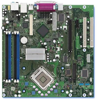 BTX motherboard