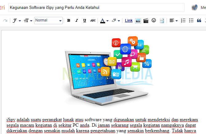 cara menambahkan gambar pada artikel