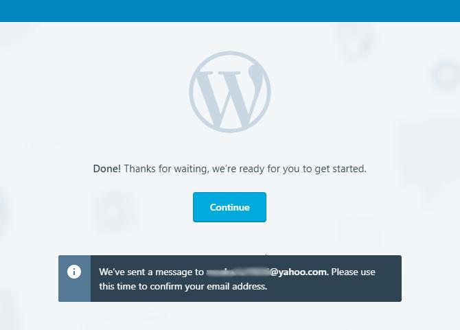 cara membuat blog di wordpress terbaru
