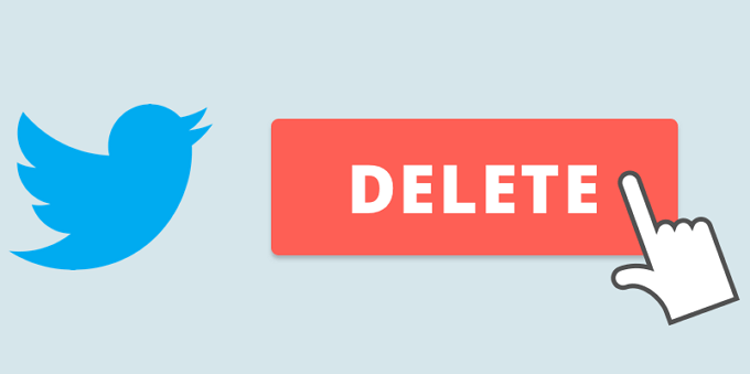 Cara Menghapus Akun Twitter