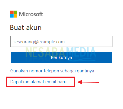 Step 4 - select get new mail
