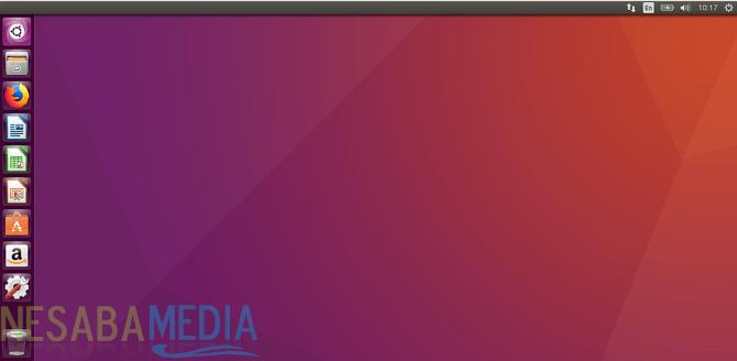 Tampilan Ubuntu