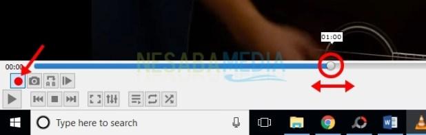 set play cursor