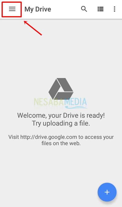 cara upload file di google drive agar bisa didownload orang lain