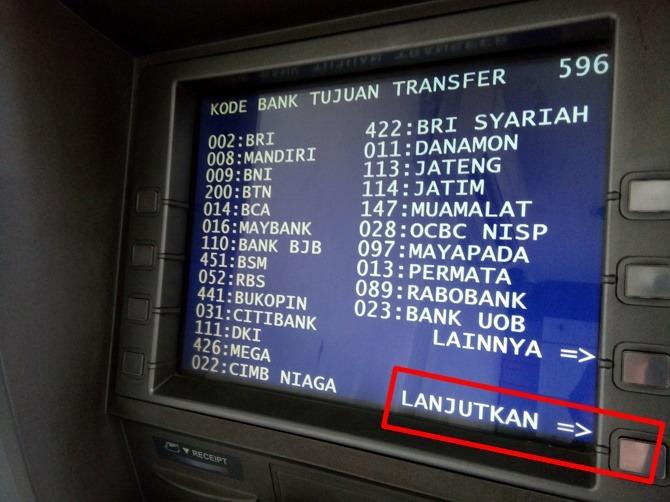 2 Cara Transfer Uang Lewat Atm Bri Ke Sesama Bri Bank Lain