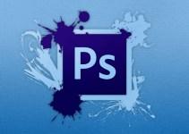 cara membuat tulisan di photoshop