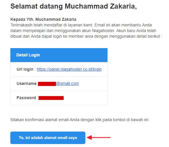 verifikasi alamat email