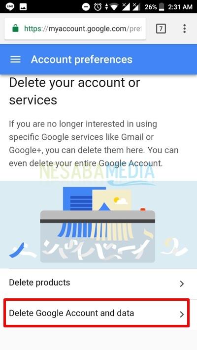2 Cara Menghapus Akun Google Permanen Di Android 100 Work