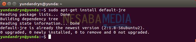 install default jre