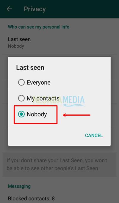 cara agar whatsapp tidak terlihat online dengan mudah