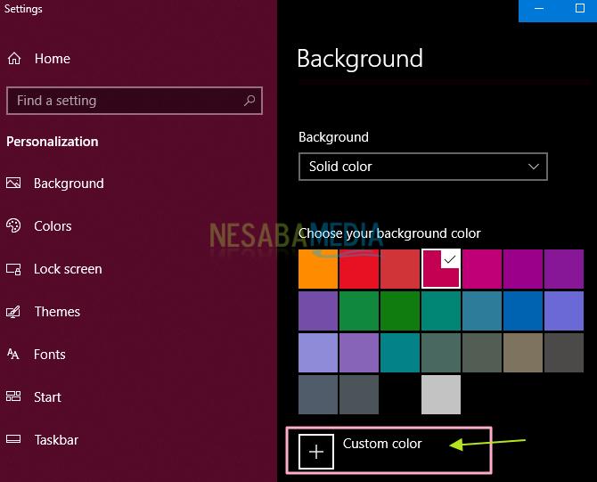 Cara mengganti wallpaper di Windows 10