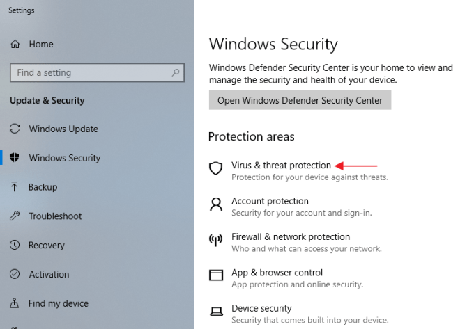 Menonaktifkan Windows Defender di Windows 10 - Step 4